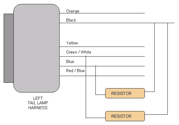wiring diagram for led load resistors wiring image solved resistors w led installs jaguar forums jaguar on wiring diagram for led load resistors